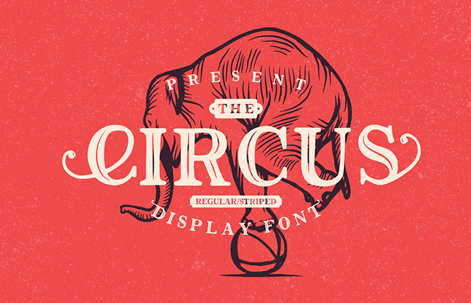The Circus Display free Font