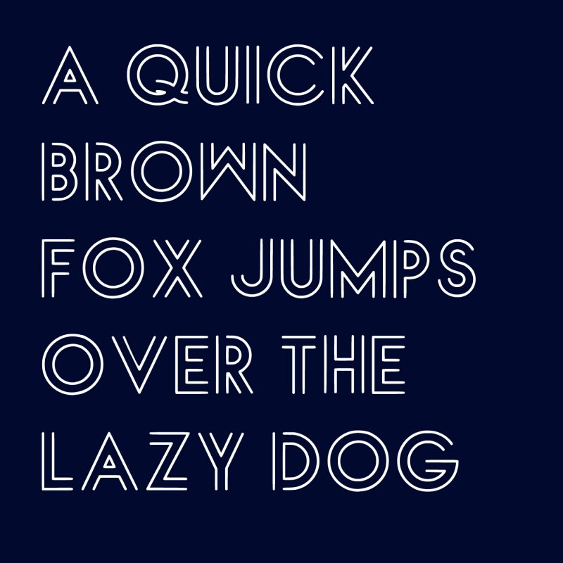 LUX LINEAE free font