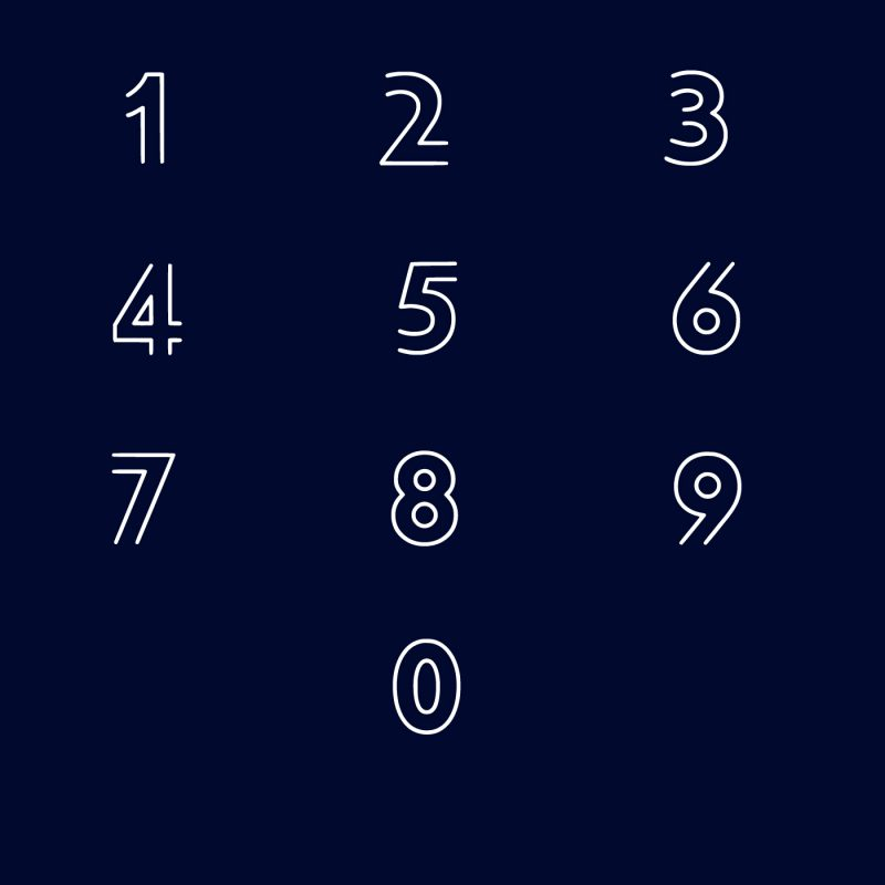 LUX LINEAE free font 9
