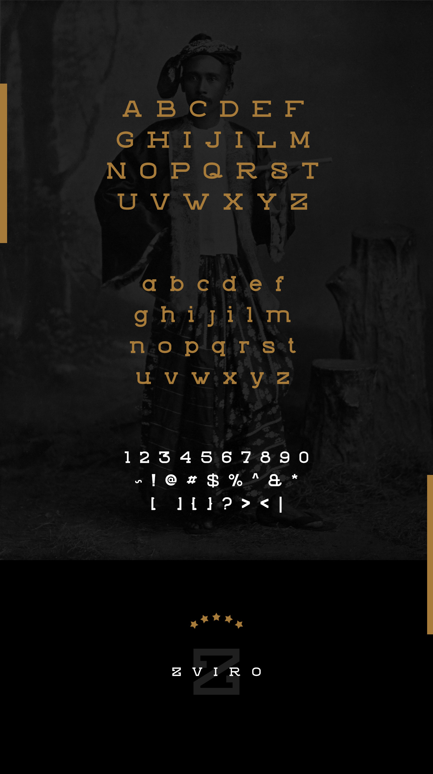 Zviro free font for personal and commercial use
