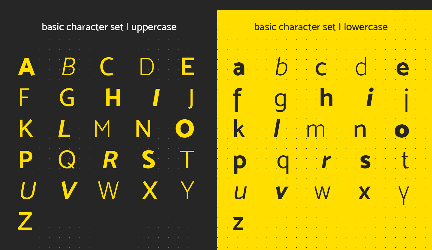 Mosk free font family