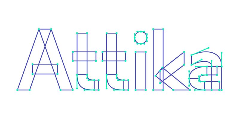 Attika free font for commercial use