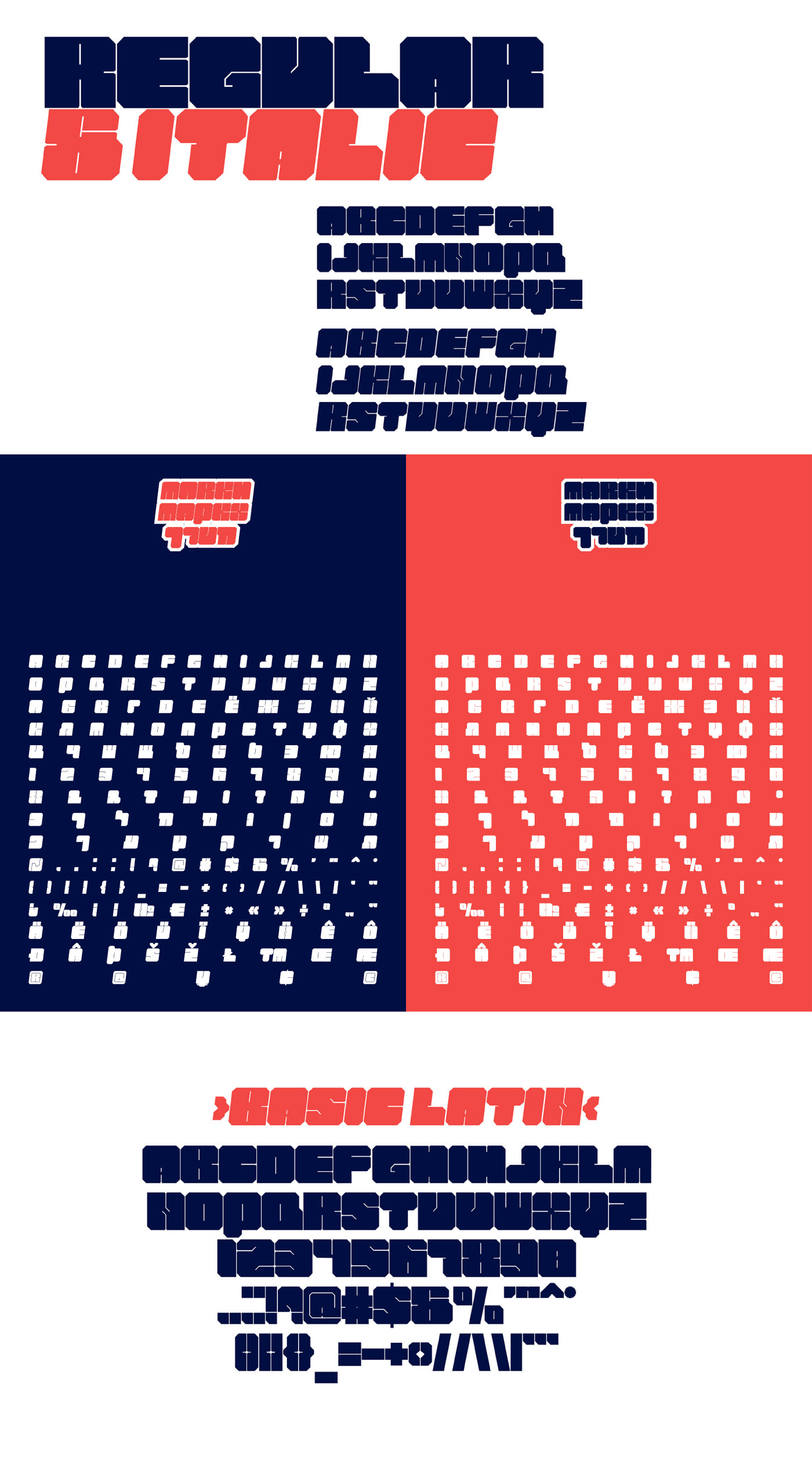 Markh heavy weight free font