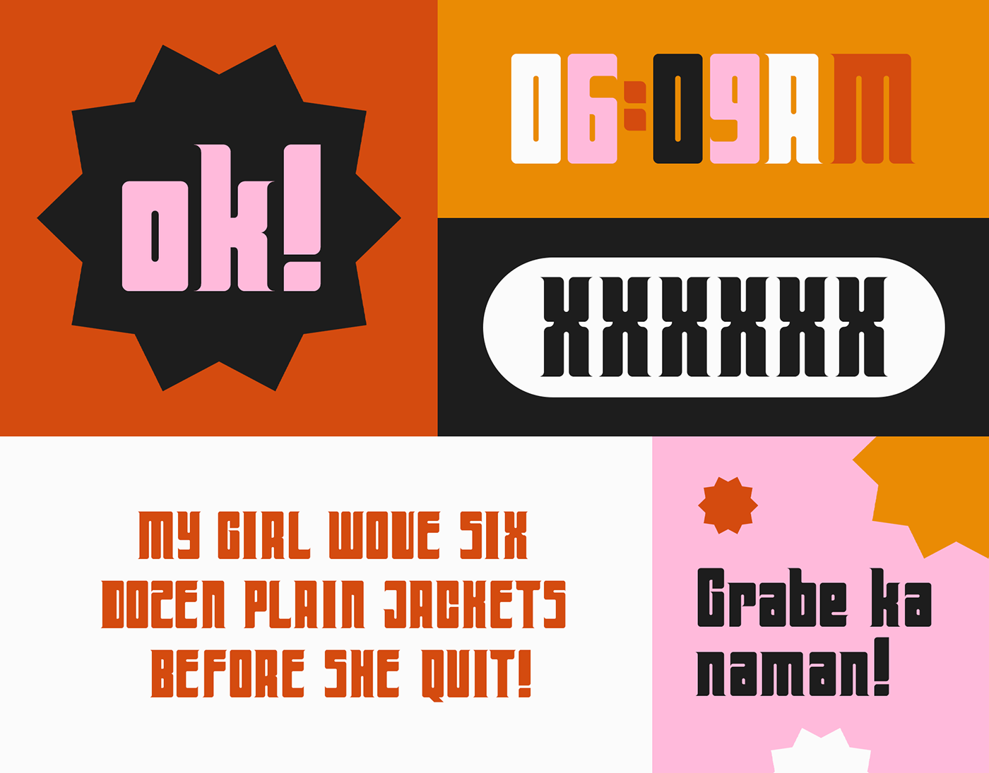 Far Out Free Display Font