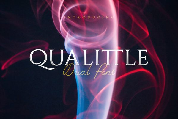 Qualittle And Glitch Free Dual Font