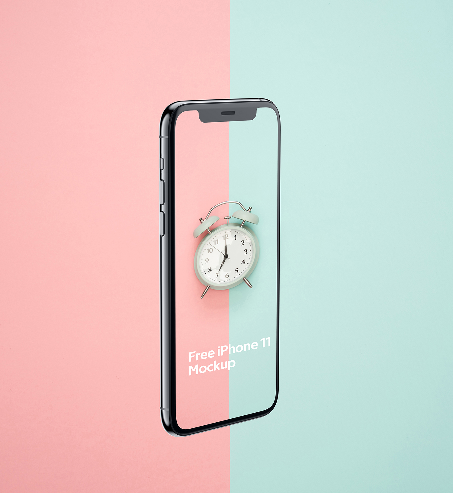 iPhone 11 Pro Front Back Mockup Free PSD