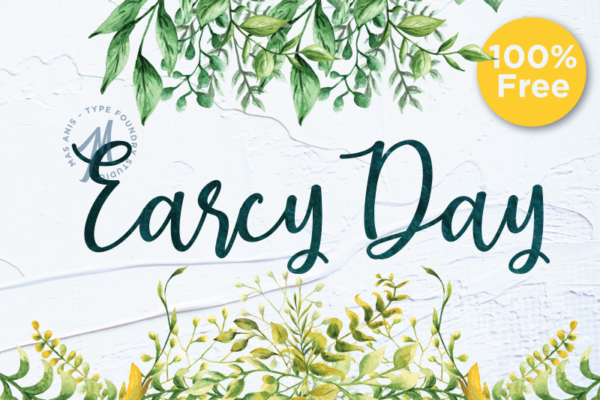 Earcy day font