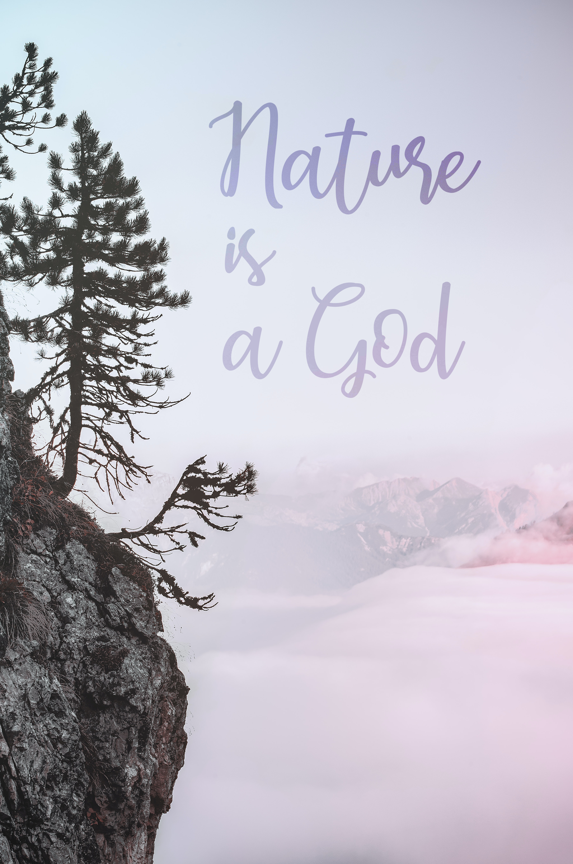 Earcy day font nature is a god
