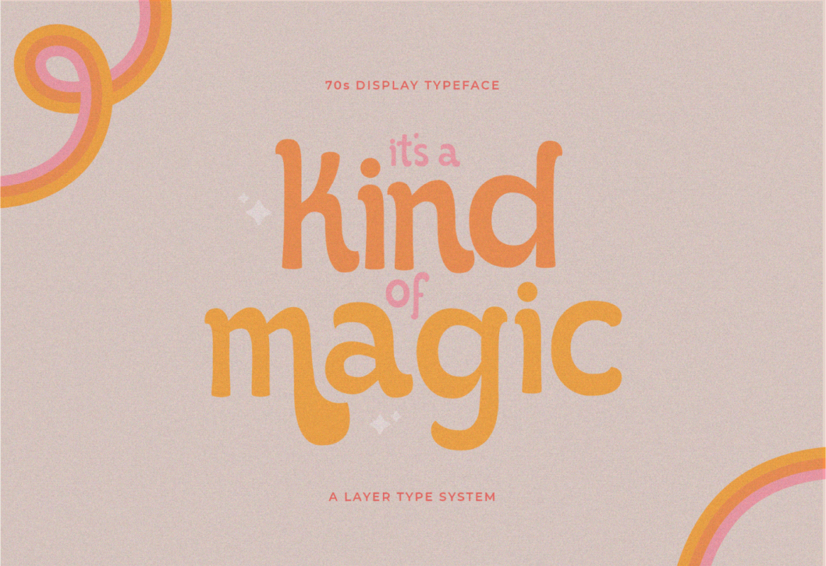 IT'S KIND OF MAGIC FONT