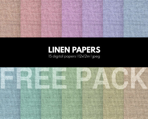 Linen papers free pattern textures