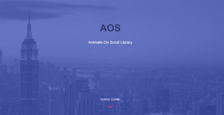 Web Animation Libraries