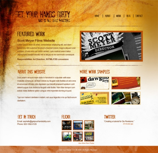 How to Create a Grunge Web Design Using Photoshop