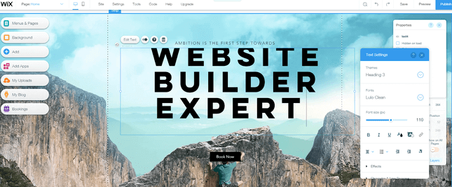 wix-Best-Free-Website-Builder