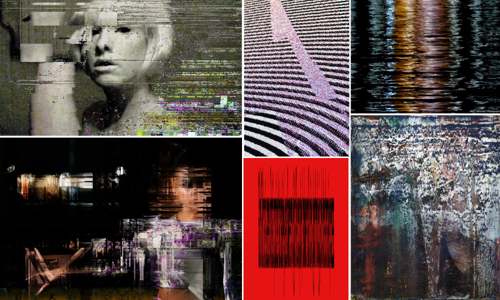 Glitch Mood Board