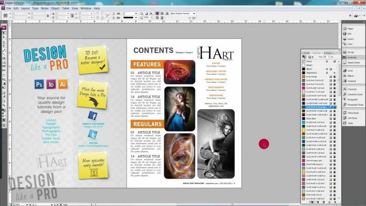 Tips For Designing Your table of contents design