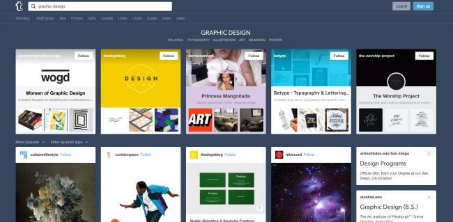 Tumblr is one of the easiest free blogging platforms to use