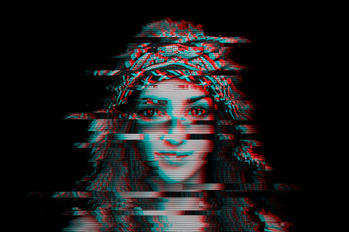 Glitch art is a trend for 2019