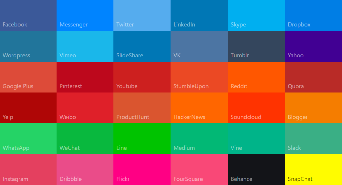 best colors websites