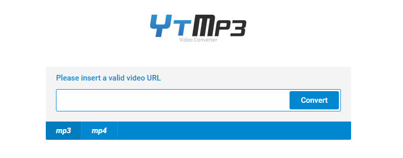 YTMP3 Youtube to mp3 converter convert2mp3