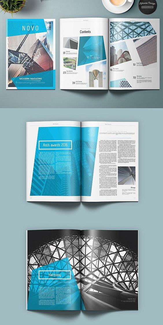 Magazine table of contents examples