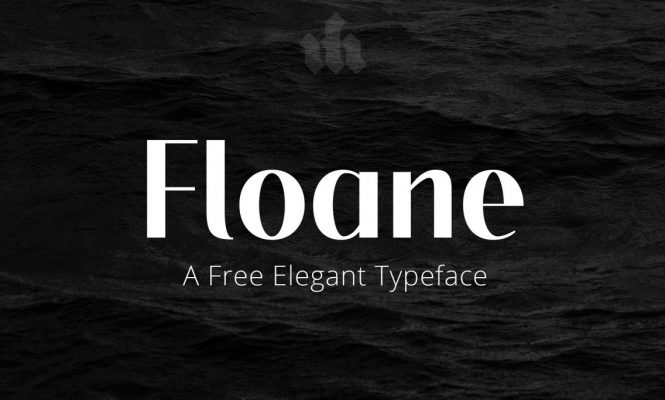 Floane free font for personal and commercial use