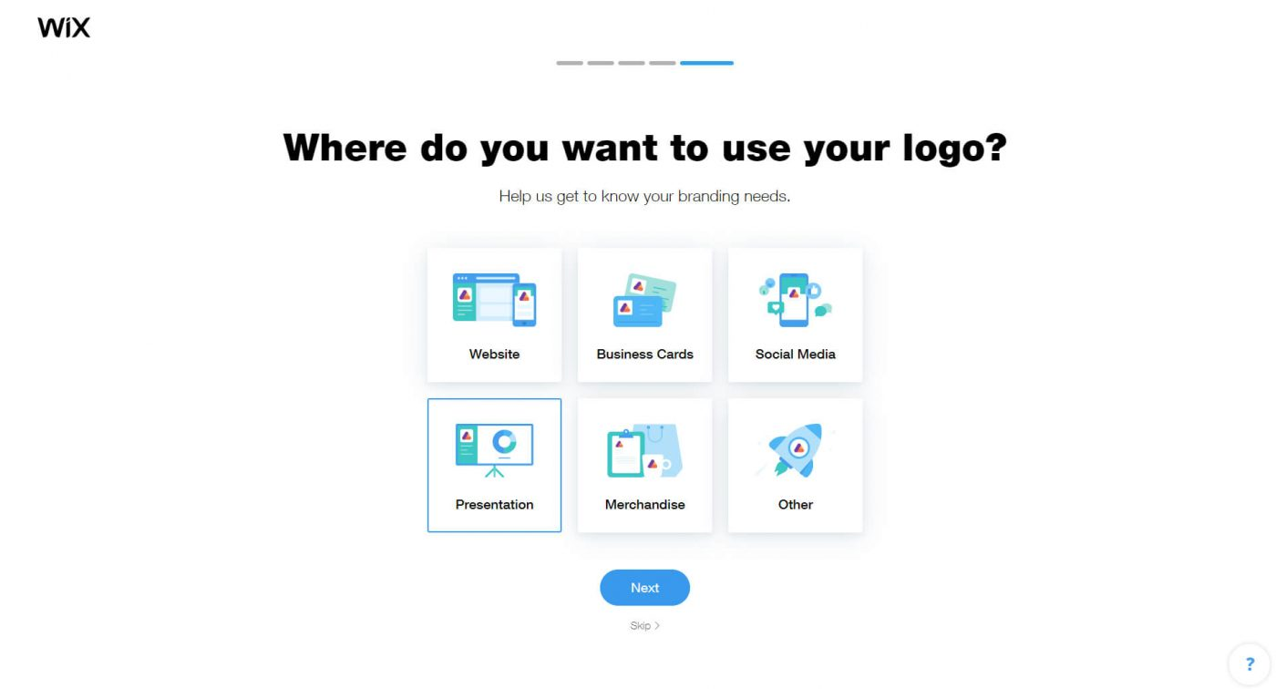 Where do you want to use your logo?