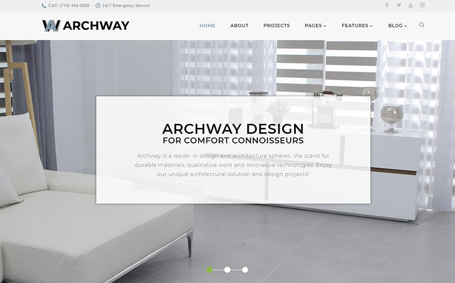 Archway  Architecture Agency Elementor WordPress Theme