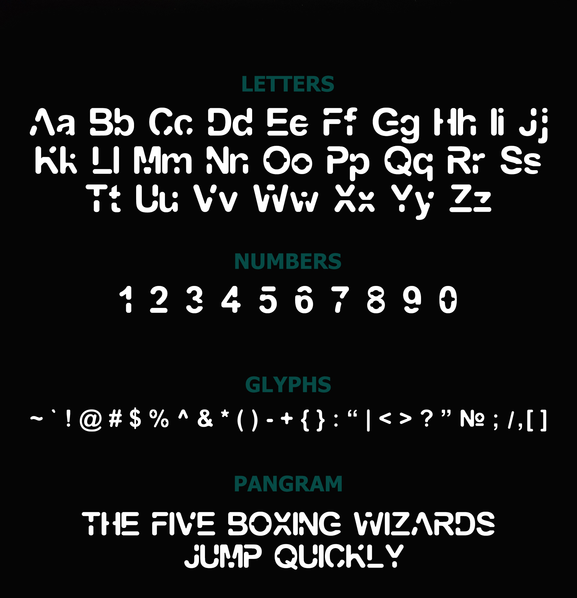 Galaxy free modern font for commercial use
