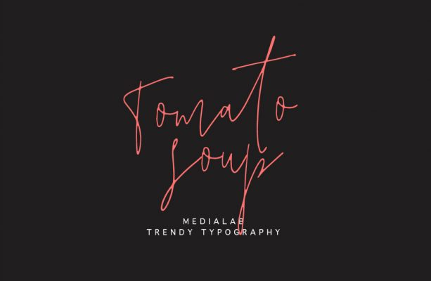 TOMATO Soup font - FREE for personal and commercial use