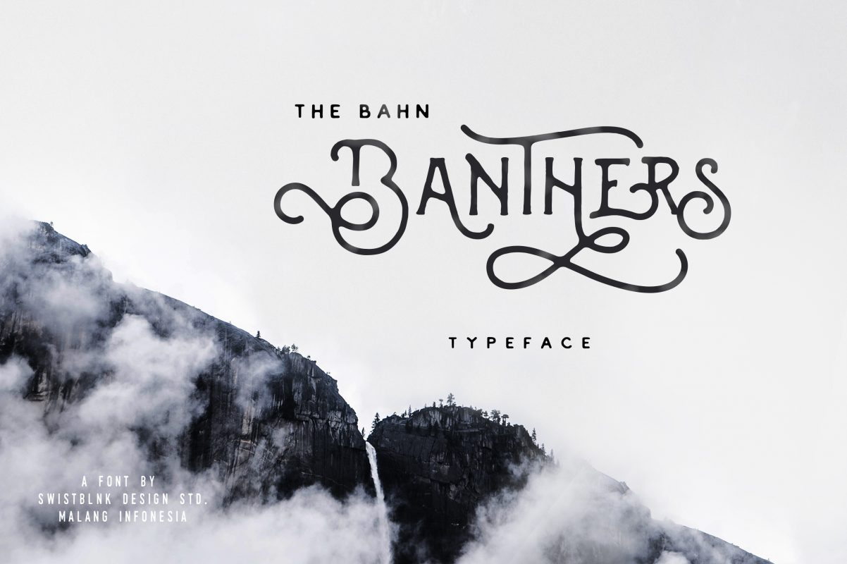 Banthers Free Font