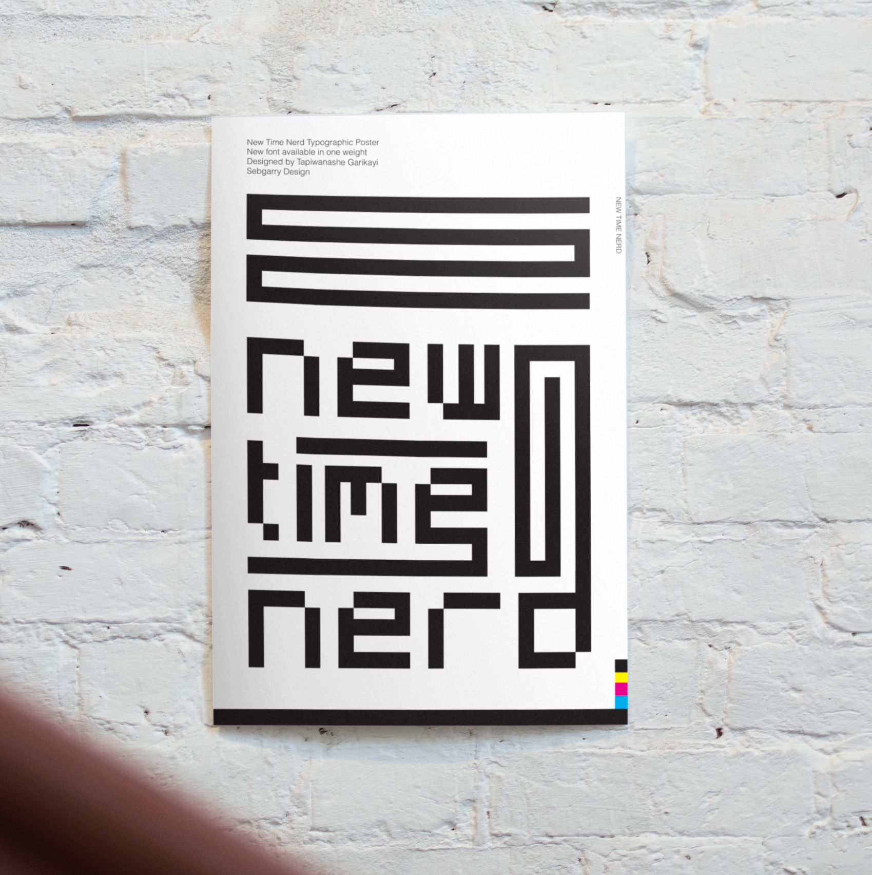 New Time Nerd Free Font