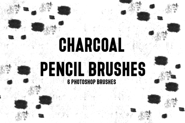 Charcoal Pencil Free Brushes