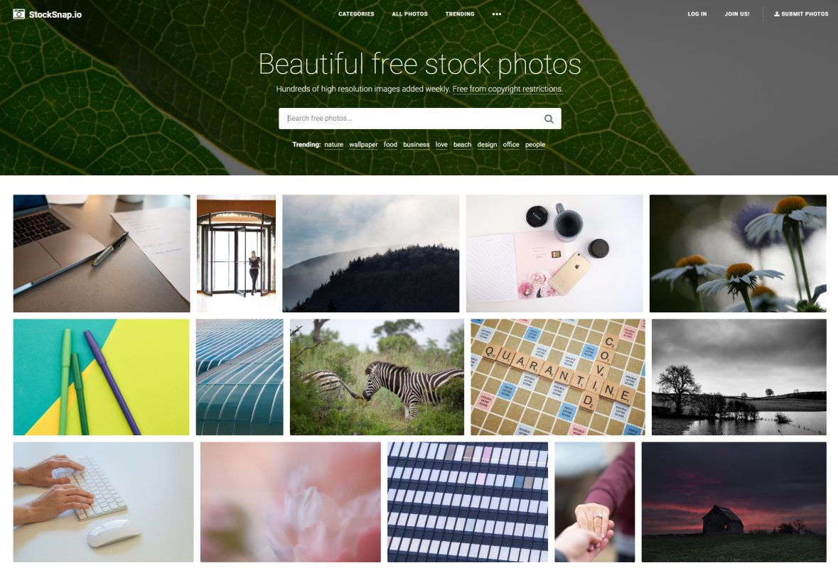 StockSnap free stock photo