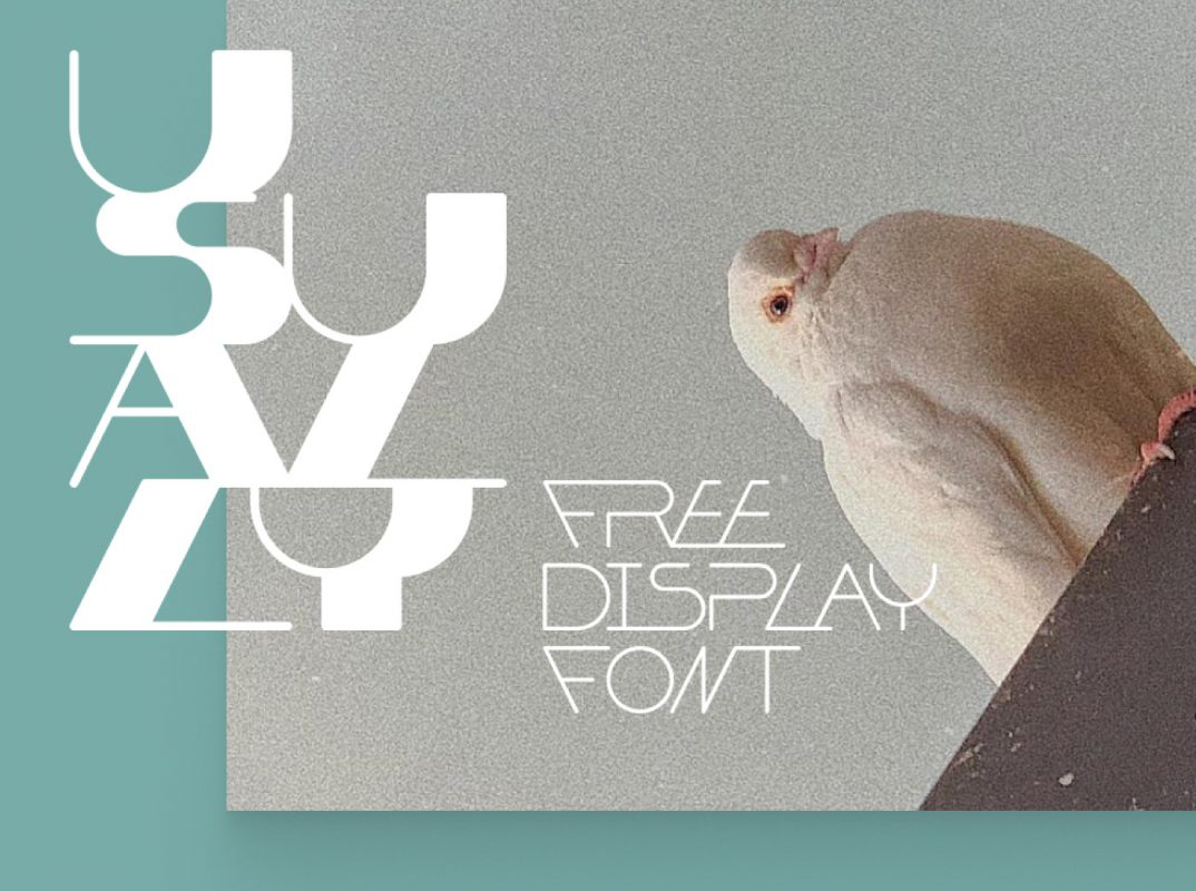 USUALLY - FREE FONT